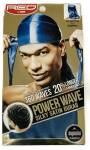 Power Wave 360 Silky Satin Durag Blue